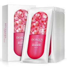 BioAqua Cherry Jelly Mask, 10шт.