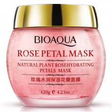 BioAqua Rose Petal Mask, 120мл.
