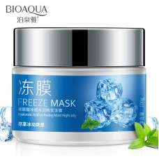 BioAqua Freeze Mask Hyaluronic Acid Ice Feeling Moist Night Jelly, 100гр.