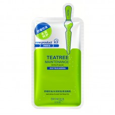 BioAqua Collagen Tea Tree Maintenance Mask, 1шт.